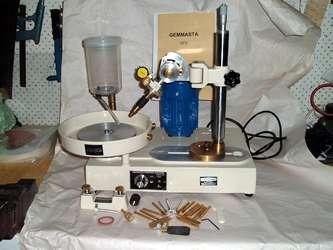 Gemmaster GF5 Faceting Machine
